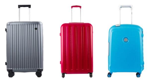 Kabinväskor med färg